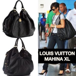 Louis Vuitton Mahina XL Hobo (Nearly New)